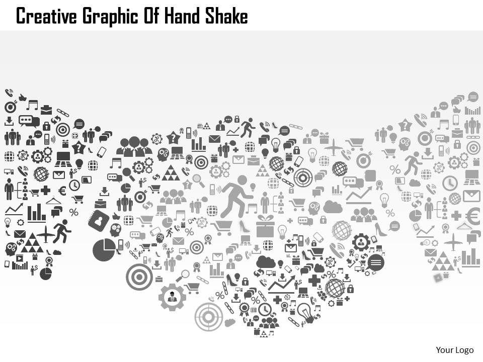 0514 Creative Graphic Of Hand Shake Powerpoint