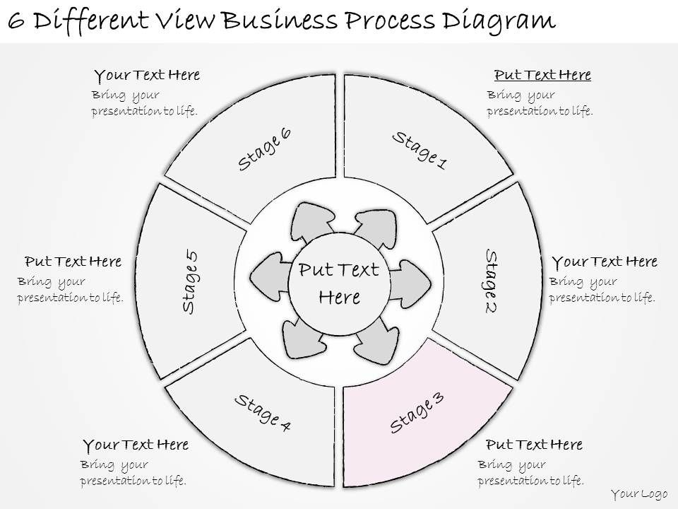 1814 Business Ppt Diagram 6 Different View Business