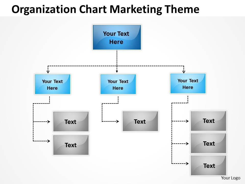 Business Network Diagram Examples Organization Chart Marketing