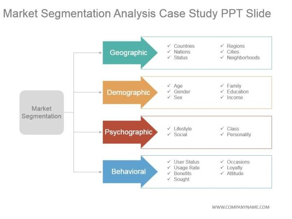 market segmentation analysis case