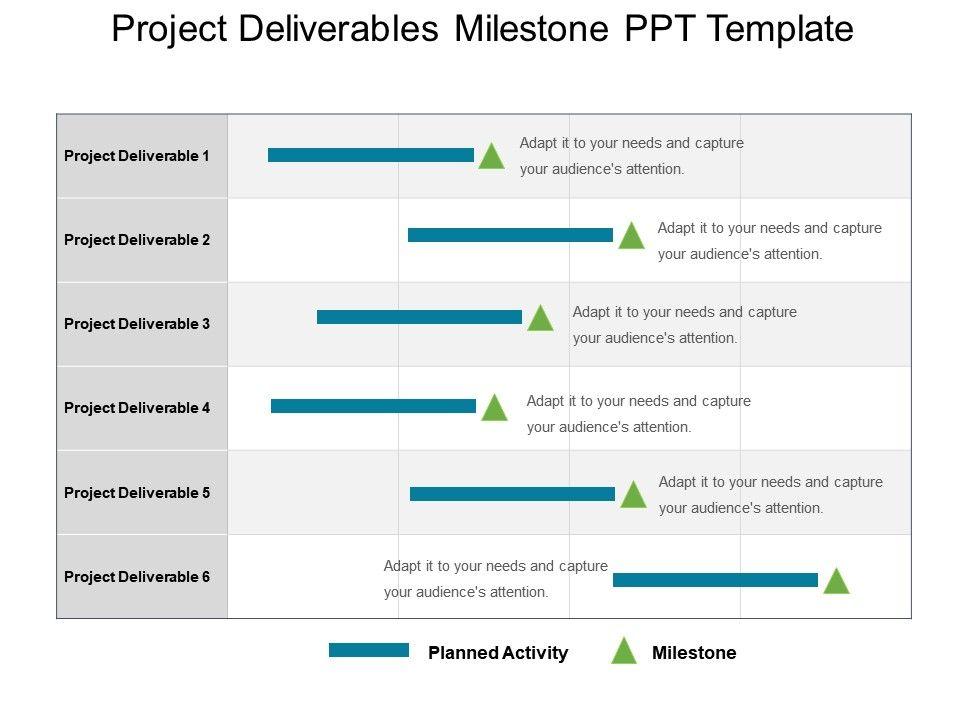 Project Deliverables Template Erieairfair