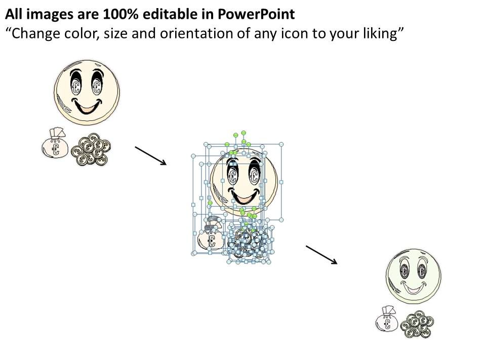 0314 Business Ppt Diagram Money Makes You Happy Powerpoint