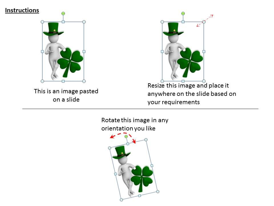 1013 3d Image Of St Patricks Day Ppt Graphics Icons