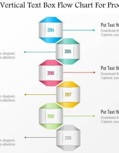 Six staged vertical text box flow chart for process powerpoint template slide also rh slideteam