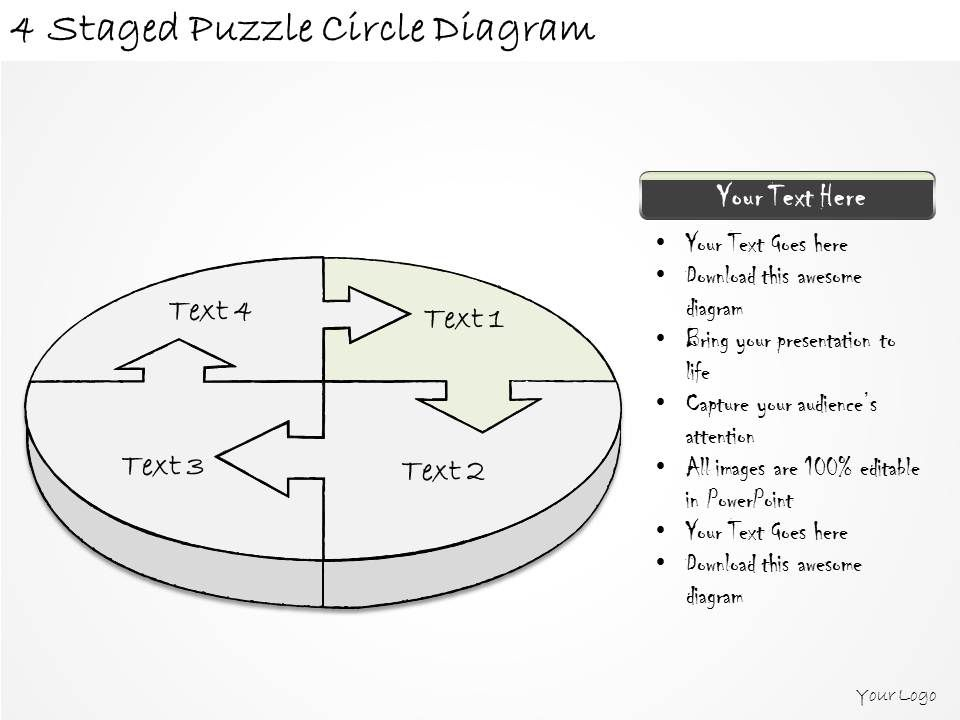 how to create a circle diagram in powerpoint