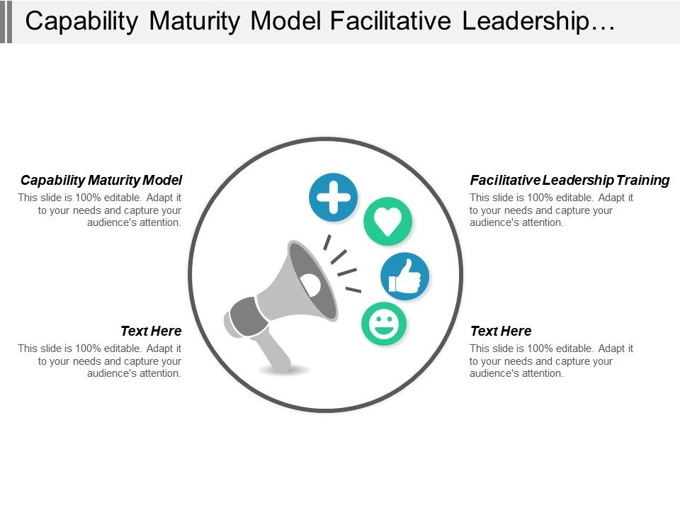 Capability Maturity Model Facilitative Leadership Training