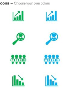 Growth chart search for good employee team decline ppt icons graphics slide also rh slideteam