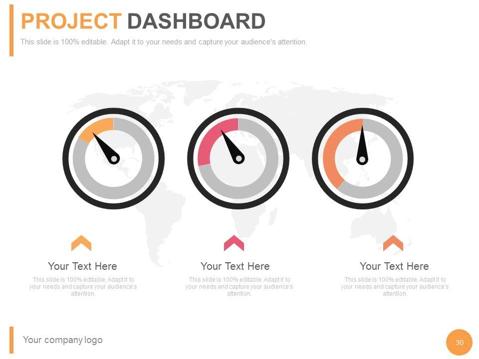 Project Management Status PowerPoint Presentation With
