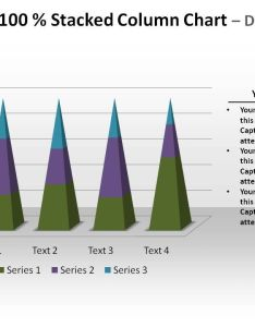 Pyramid percent stacked column chart data driven powerpoint templates slide also rh slideteam