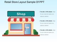 Retail Store Layout Sample Of Ppt | PowerPoint Templates ...