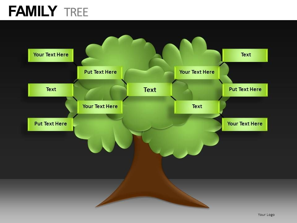 family tree diagram template s13 sr20det redtop wiring powerpoint presentation slides db