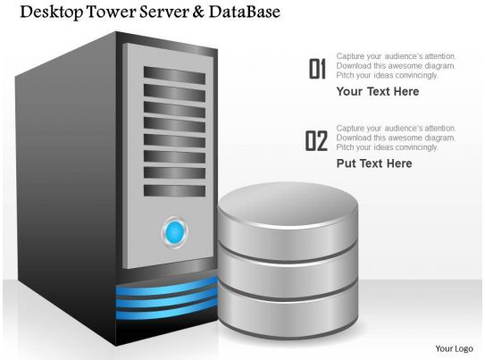 88534010 Style Technology 1 Servers 1 Piece Powerpoint