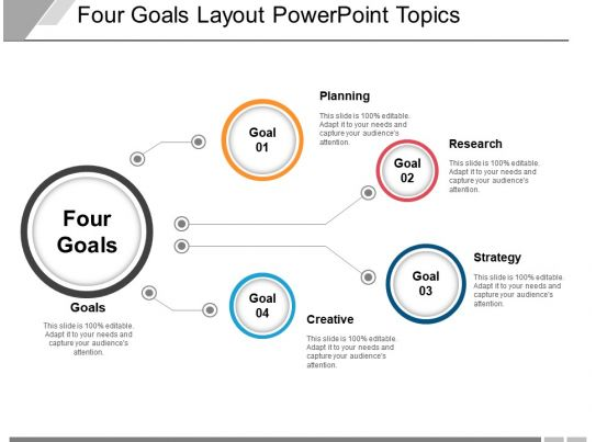 51934124 Style Linear 1-Many 4 Piece Powerpoint