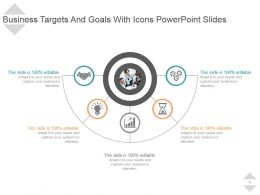 Circular Semi Process Powerpoint Presentation Diagrams