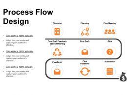 Circular Zig Zag Process Powerpoint Presentation Diagrams