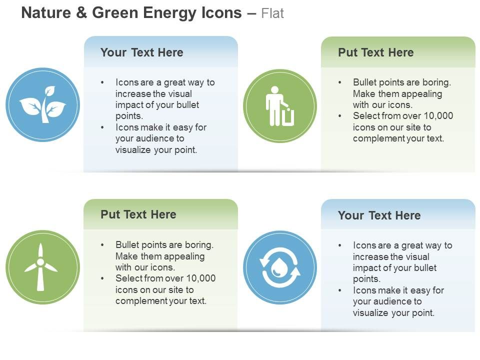 Windmill Leaves Waste Management Recycle Ppt Icons Graphics | PPT ...