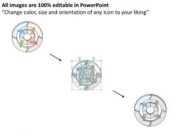 0314 Business Ppt diagram Circular Model For Monetary