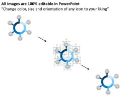 Six Staged Circular Agenda Display Diagram 0214