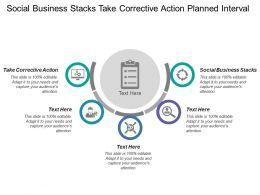 Social Business Stacks Take Corrective Action Planned