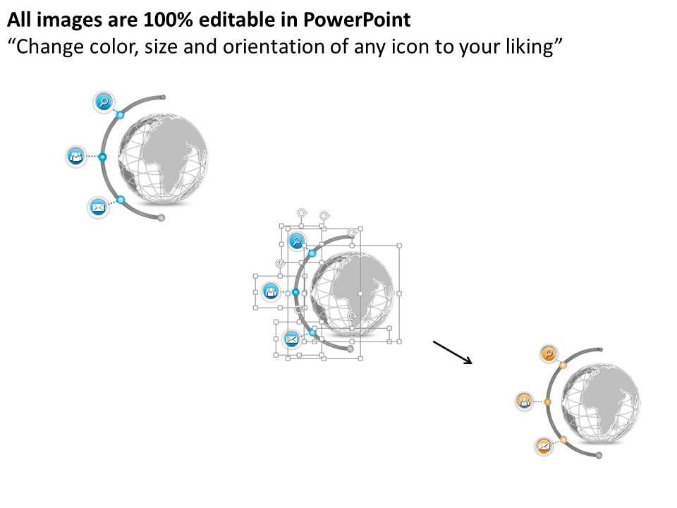 87888375 Style Circular Semi 3 Piece Powerpoint
