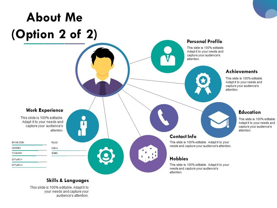 about me ppt slide
