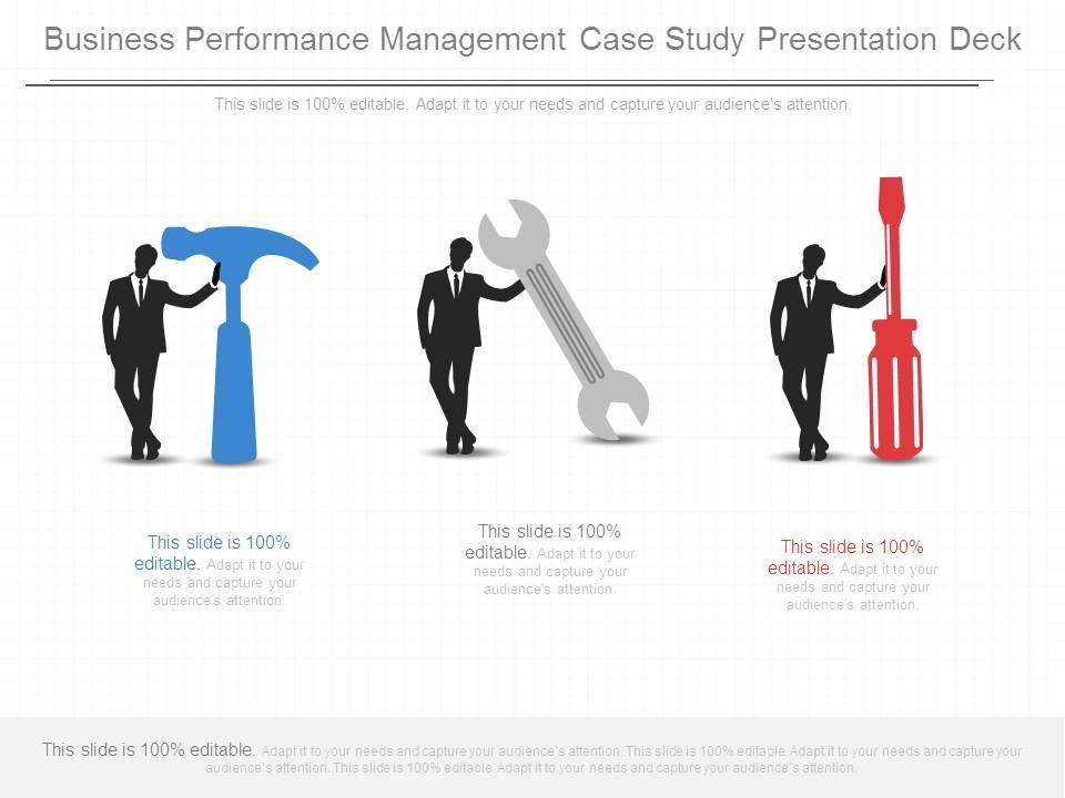 Business Performance Management Case Study Presentation