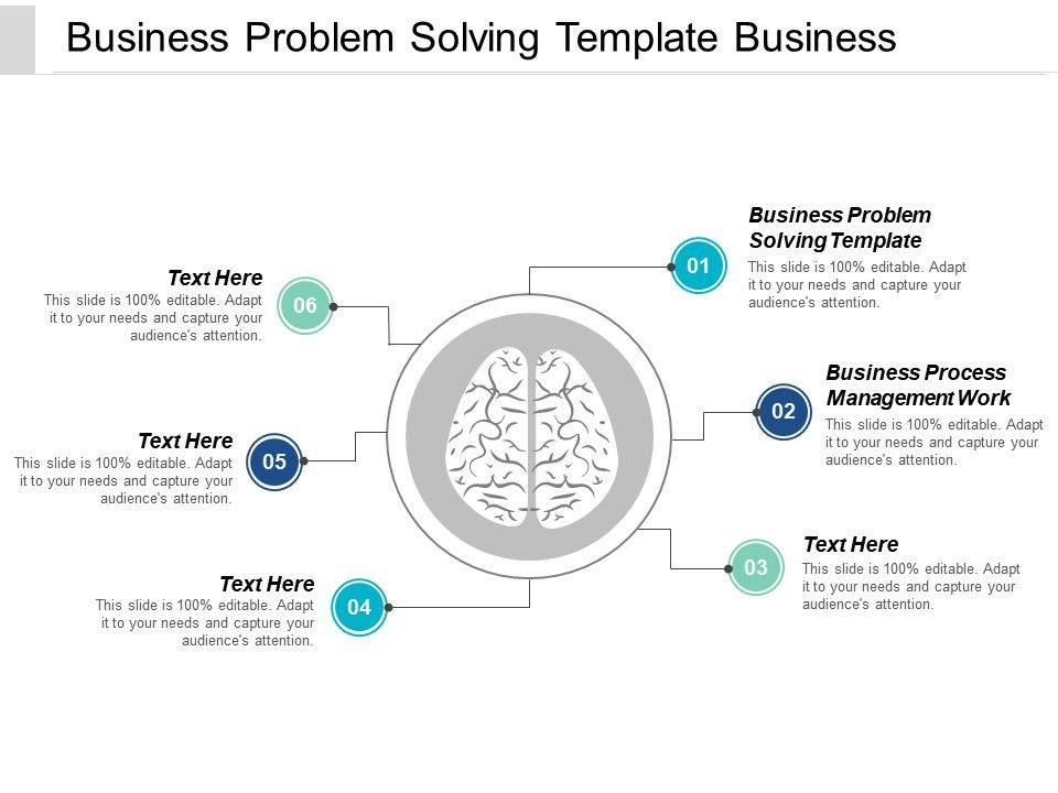 Business Problem Solving Template Business Process Management Work Cpb   Presentation Graphics   Presentation PowerPoint Example   Slide Templates