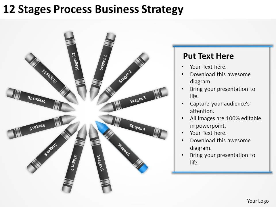 Business Process Diagram Symbols 12 Stages Strategy