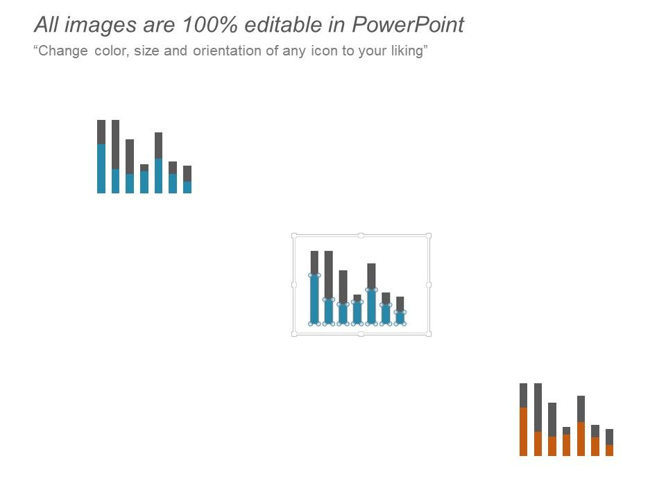 Clustered Column Chart Investment Ppt Powerpoint