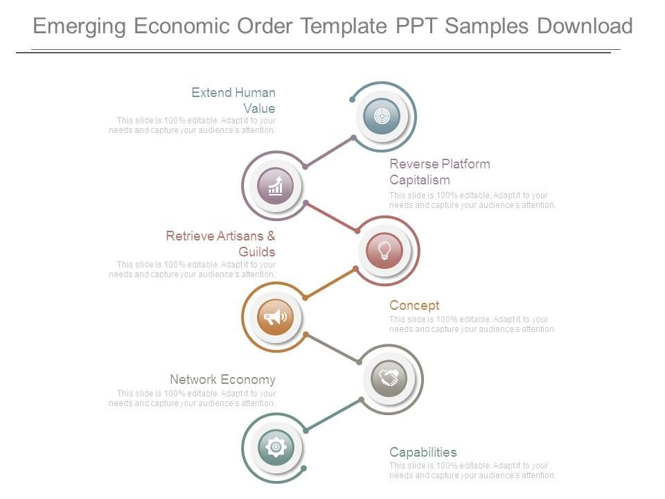 Emerging Economic Order Template Ppt Samples Download