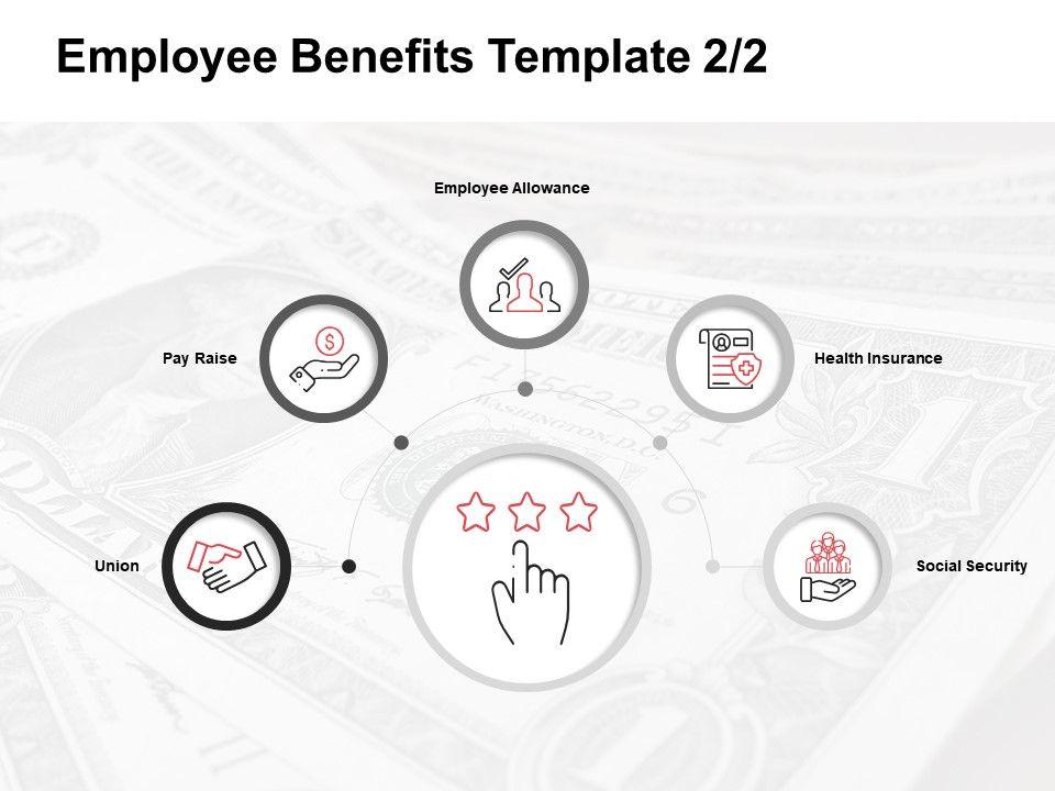 Employee Benefits Template Employee Allowance Ppt