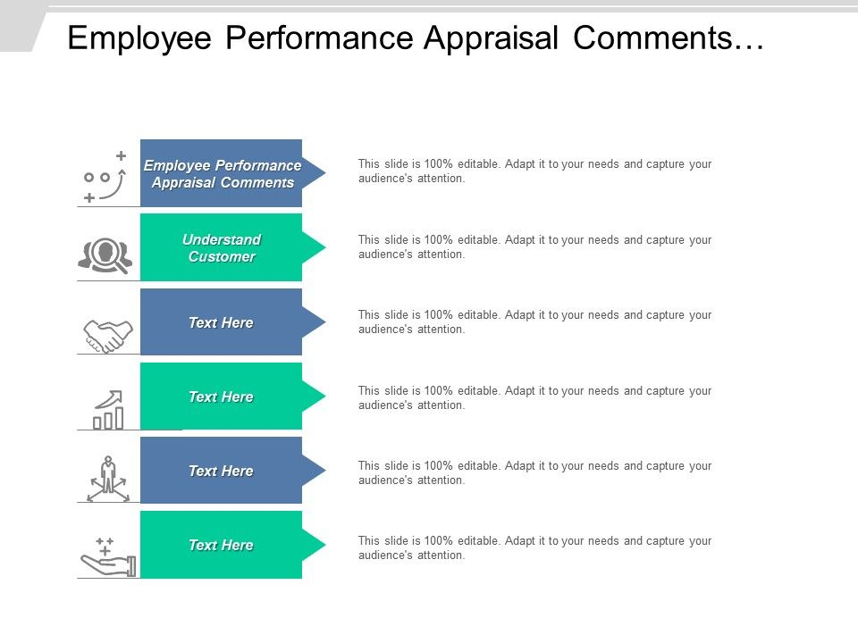 Employee Performance Appraisal Comments Employee Comments Review Loss Prevention Cpb   PowerPoint Presentation Templates   PPT Template Themes ...