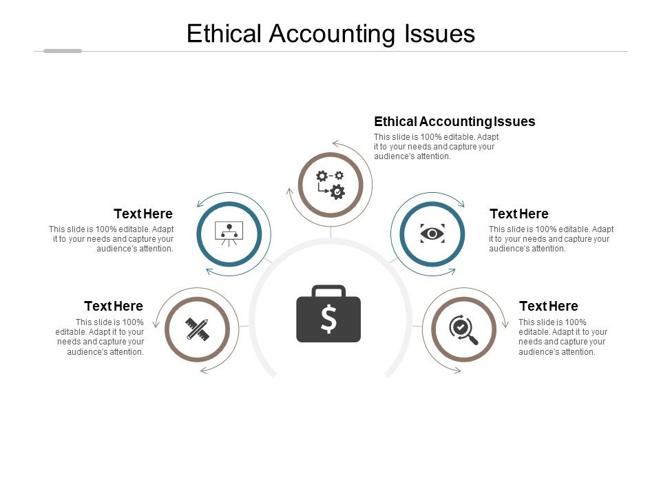 Ethical Accounting Issues Ppt Powerpoint Presentation