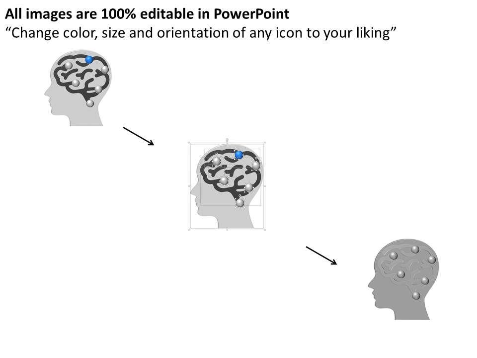 pa Human Brain Efficiency Business Idea Diagram Powerpoint