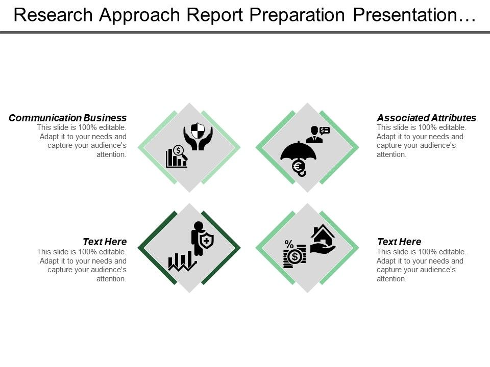 Research Approach Report Preparation Presentation Data