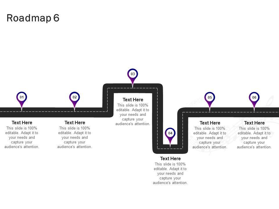 Roadmap Process Business A853 Ppt Powerpoint Presentation