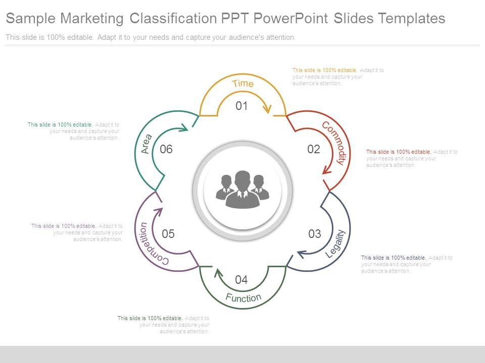 Sample Marketing Classification Ppt Powerpoint Slides