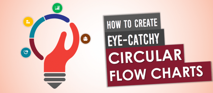 flow diagram beautiful design kitchen wiring uk how to create a stunning circular chart in powerpoint the tutorial 26