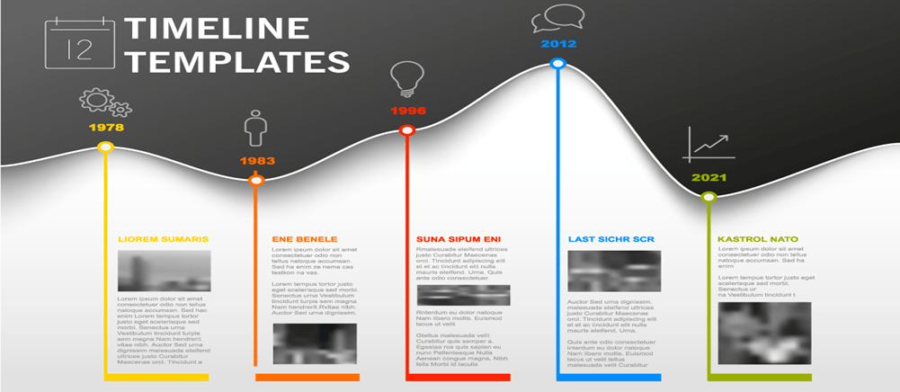 timelines 12 timeline powerpoint