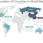 Top 30 Customizable World Map Powerpoint Templates For Every Industry The Slideteam Blog