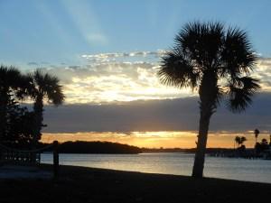 Sunrise over Lemon Bay