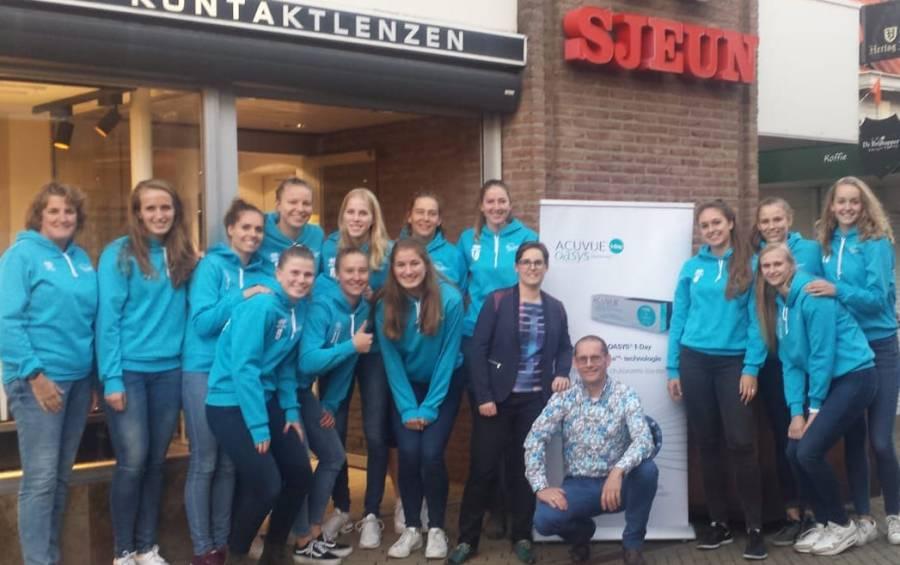 Sjeun Optiek by Floris zet Dames 1 Sliedrecht Sport op scherp