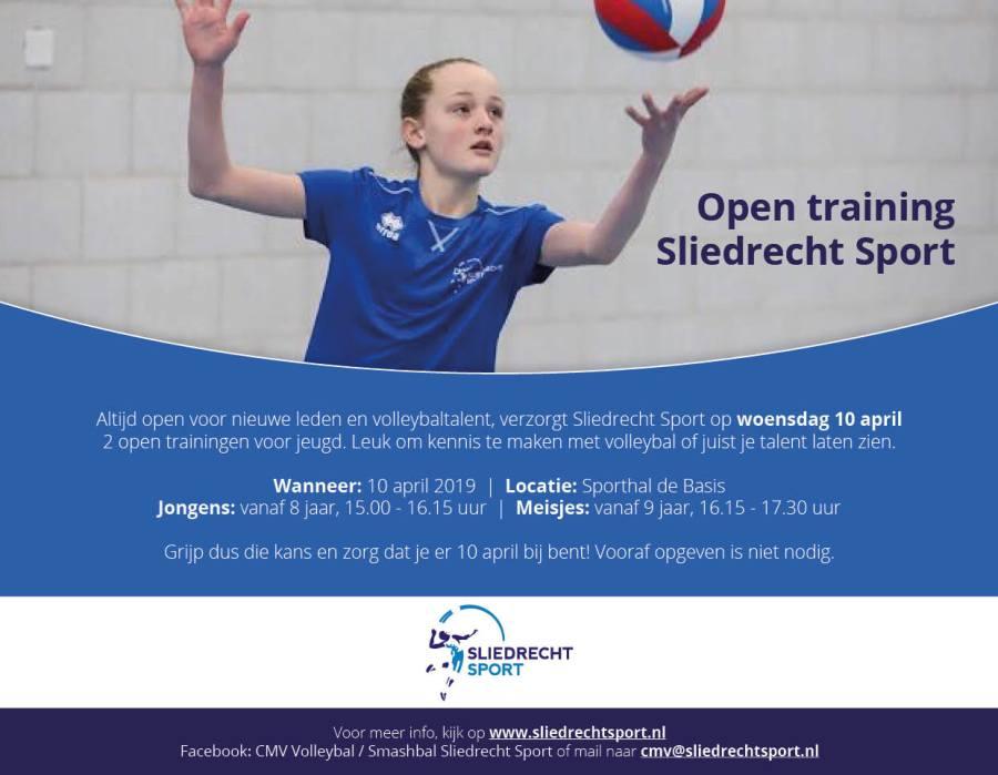Kom kennismaken met volleybal op onze Open Jeugdtrainingen