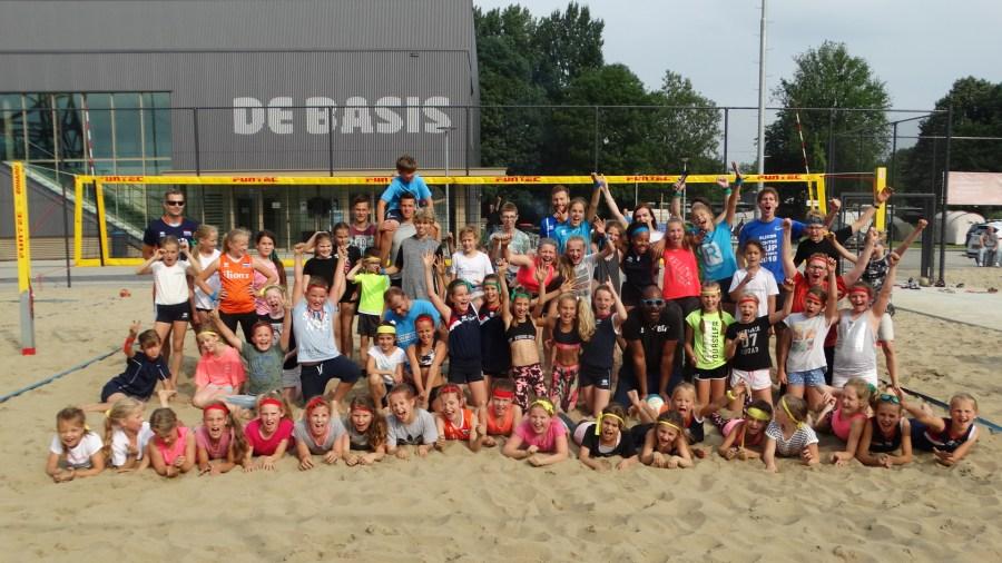 Beachvolleybaltrainingen bij Sliedrecht Sport
