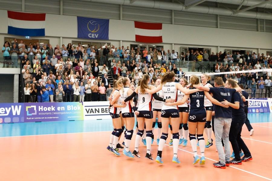 Sliedrecht Sport schrijft zich in voor Europacup-volleybal