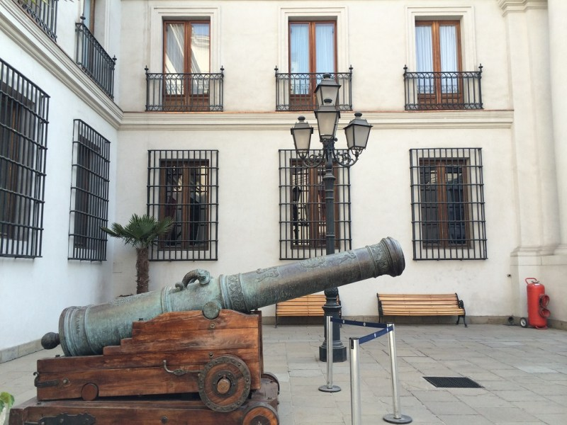 la moneda cannon