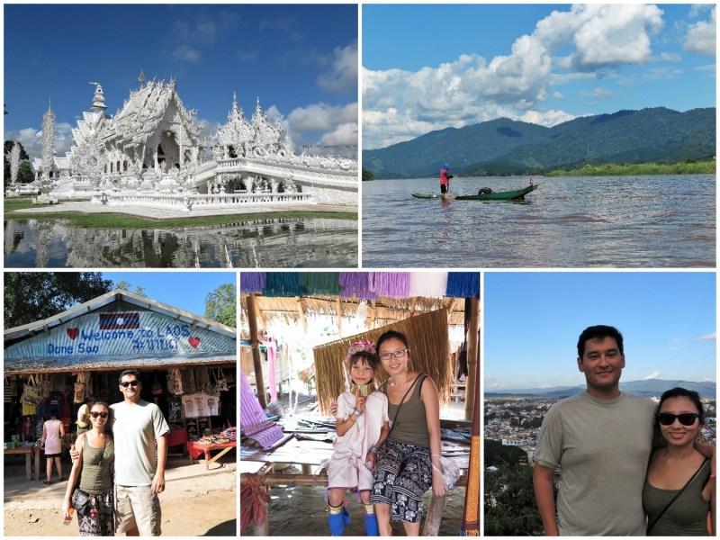 Northern Thailand collage
