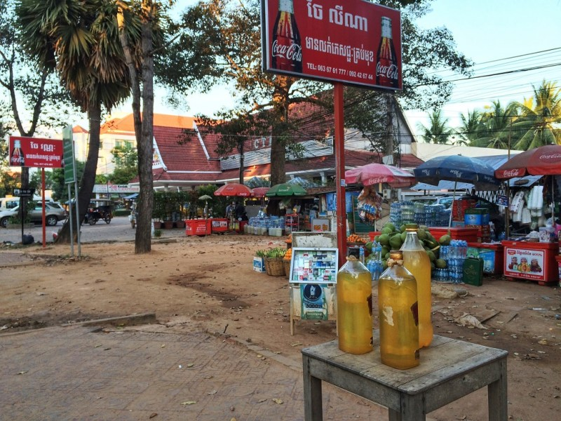 typical Siem Reap street scene