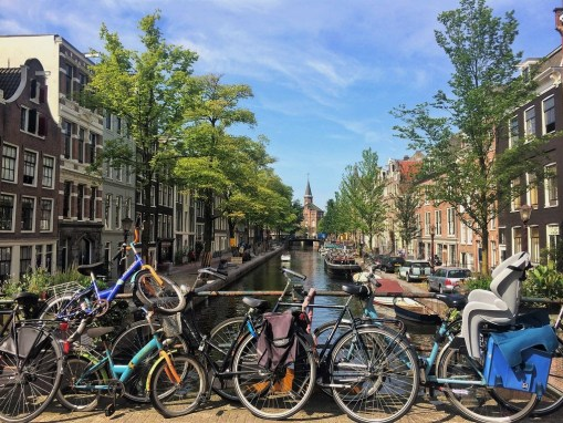 Week 16: Amsterdam - picturesque canals + bikes