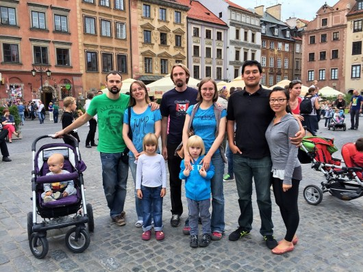 Week 22: Warsaw, Poland - met D's Polish family, a highlight of the trip!